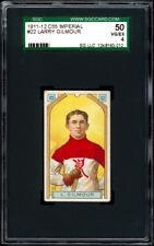 1911-12 C55 Imperial Tobacco #22 Larry Gilmour SGC 50+