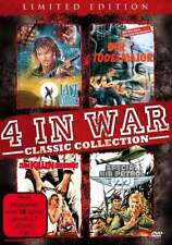 4 WAR WAR movies Collection SPECIAL AIR PATROL Last Warrior DEATH MAJOR DVD Box