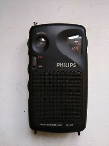 Radiolina Am Fm portatile vintage Philips AE 1490 funzionante design anni 90