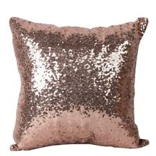 Reversible Mermaid Pillow Sequin Cover Glitter Sofa Cushion Case Double Color