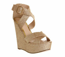 Textile Wedge Shoes OFFICE for Women