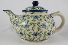 Bunzlauer Keramik Teekanne, Kanne für 1,3Liter Tee, (C017-TAB1) U N I K A T