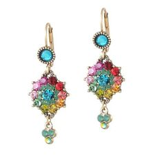 Michal Negrin Dangle Swarovski Multi Zoey Earrings #100163931