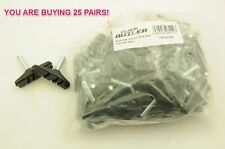 CYCLE MECHANICS WHOLESALE DEAL 25 PAIRS MTB CANTILEVER BRAKE SHOES/ BLOCKS