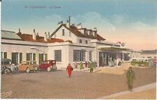 Compiègne, La Gare, Bahnhof in Frankreich, alte Ansichtskarte um 1930