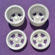 Resin 1/25 American Torq Thrust D Mag Wheels - Pro Street Set