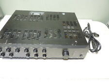 TOA 700 Series Model A-706 Power Amp Amplifier Integrated Mixer  60 Watts TESTED