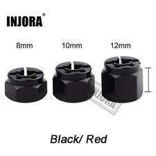 1 conjunto de Metal Rueda Buje hexagonal de 12mm 8/10/12MM Ancho de extensión para 1/10 1/8 rc crawler