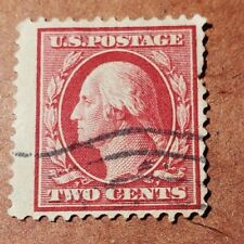 GM27 WASHINGTON TWO CENT USED STAMP