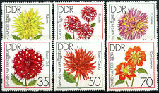 East Germany DDR 1979 SG#E2145-50 IGA Garden Exh. Flowers MNH Set #D59948