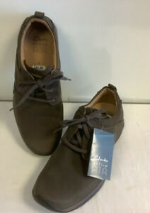 CLARKS Active Air Men's Brown Shoes size UK 8 BNWT RRP£66.99 Red£44.99 - D25