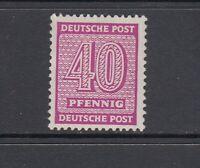 SBZ Mi-Nr. 136 x za ** postfrisch - geprüft Schulz BPP