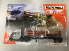 Matchbox New Convoy Tesla Semi & Pipe Trailer With Load Lifter.HTF. FREE SHIPING