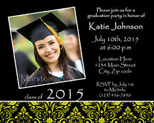 50 Graduation party photo announcements or invitations *Choose Any Design*