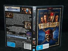 PIRATES OF THE CARIBBEAN : THE CURSE OF THE BLACK PEARL (DVD, M)