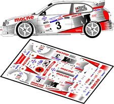 DECALS 1/43 TOYOTA COROLLA WRC - #3 - KUZAJ - RALLYE DE POLOGNE 2001 - D43044