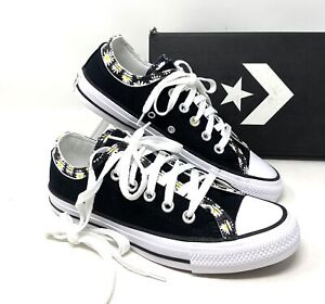 Converse Chuck Taylor All Star DOUBLE UPPER Low Canvas Black Women's 568873F