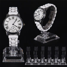2X Clear Acrylic Detachable Bracelet Jewelry Watch Display Holders Stands Rack@T