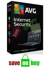 AVG Internet Security 2018 - 1 User, 1 PC, 3 Years (Windows)