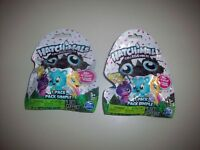 Lot of 2 Season 1 Hatchimals Colleggtibles Mystery Minis Blind Bag Figures