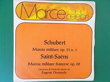 45 GIRI EUGENE ORMANDY SCHUBERT MARCIA MILITARE OP 51 N°1 SAINT SAENS FRANCESE