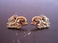 Gold color Koala with crystal eye accent stud fashion earrings for sale!!!