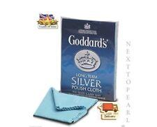 Goddards Silver Polish Chiffon Nettoyant polishng, bijoux NEUF