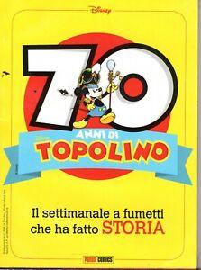 fumetto TOPOLINO WALT DISNEY 70 ANNI DI TOPOLINO