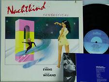 Chris Evans&Walter Wigand (German Rock) -Nachtkind Insert D-1985 cut.Intercord
