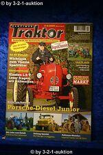 Oldtimer Traktor 3-4/09 Porsche Diesel Junior Lanz Bulldog D 8516 Unimog die70er