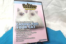 """Caring for your New Cat"" Kitten Care DVD Care Behavior $6"