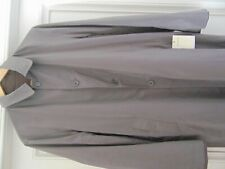 DRIES VAN NOTEN REVELL  TAUPE  REVERSIBLE RAIN COAT- NEW WITH TAGS 48
