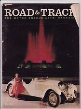 Road & Track Magazine May 1958 See My Store