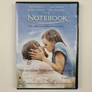 The Notebook DVD - Ryan Gosling - Rachel McAdams - Region 4 - TRACKED POST
