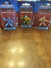 He Man Masters Of The Universe Micro Collection Lot Of (3)