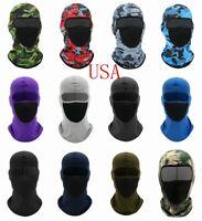Balaclava Face Full Mask Cover Lycra Biker Bandana Beanie Neck Gaiter Scarf Hood