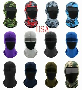 Balaclava Face Mask Full Cover Lycra Biker Bandana Beanie Neck Gaiter Scarf Hood
