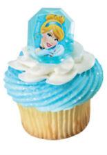 Disney Princess Cinderella cupcake rings (24) party favor cake topper 2 dozen