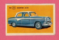 Austin A95  Vintage 1950s Car Collector Card from Sweden