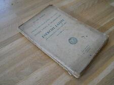 ANALISI LOGICA E GRAMMATICALE ED ESERCIZI LATINI, VOL.I-R.RUBRICHI-ZOPPELLI 1944