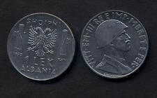 ALBANIA 1 Lek 1939 XVIII M. conservaz. BB