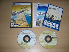 FLIGHT SIMULATOR SIM X DELUXE Edition Pc  Microsoft FSX FS Base Game FAST POST