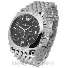 *NEW* MENS EMPORIO ARMANI CLASSIC CHRONO STEEL WATCH - AR0314 - RRP £275.00