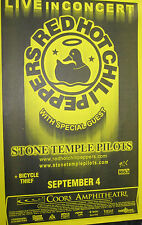 RED HOT CHILI PEPPERS LIVE AT COORS AMPHIHEATRE STONE TEMPLE PILOTS