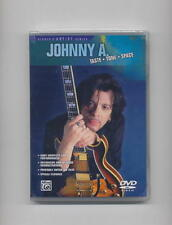 JOHNNY A. - TASTE TONE SPACE *NEW* GUITAR DVD