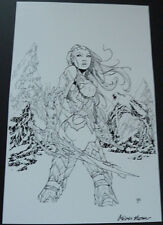 OLIVER NOME FATHOM KIANI SDCC ASPEN #6 Signed by the Artist!  HTF