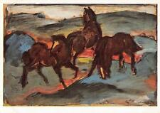 "vintage greeting artistcards  artist Franz Marc ""3141"""