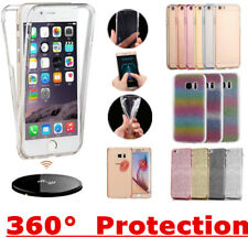 Shockproof 360° Full Silicone Protective Clear Case Cover For Apple iPhone Model