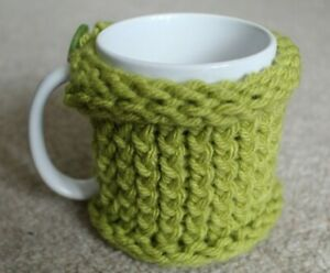 Mug Jumper * Cozie Cup Cosey Coffee Tea Drink * Choose Colour * Gift Him Her *UK