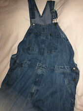 Craftsman Mens 42 x 32 Blue Denim Bib Overalls Carpenter Jeans